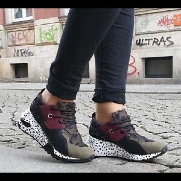 Cliff Multi Sneaker Olive